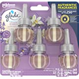 Glade PlugIns Refills Air Freshener, Scented and Essential Oils for Home and Bathroom, Lavender & Vanilla, 3.35 Fl Oz, 5 Coun