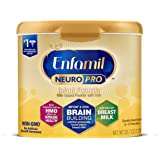 Enfamil NeuroPro Baby Formula Milk Powder 20.7 oz Reusable Tub, Dual Prebiotics for Immune Support, Infant Formula Inspired b