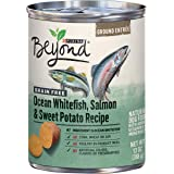 Purina Beyond Grain Free Ocean Whitefish, Salmon & Sweet Potato Adult Wet Dog Food - (12) 13 oz. Cans (Packaging May Vary)