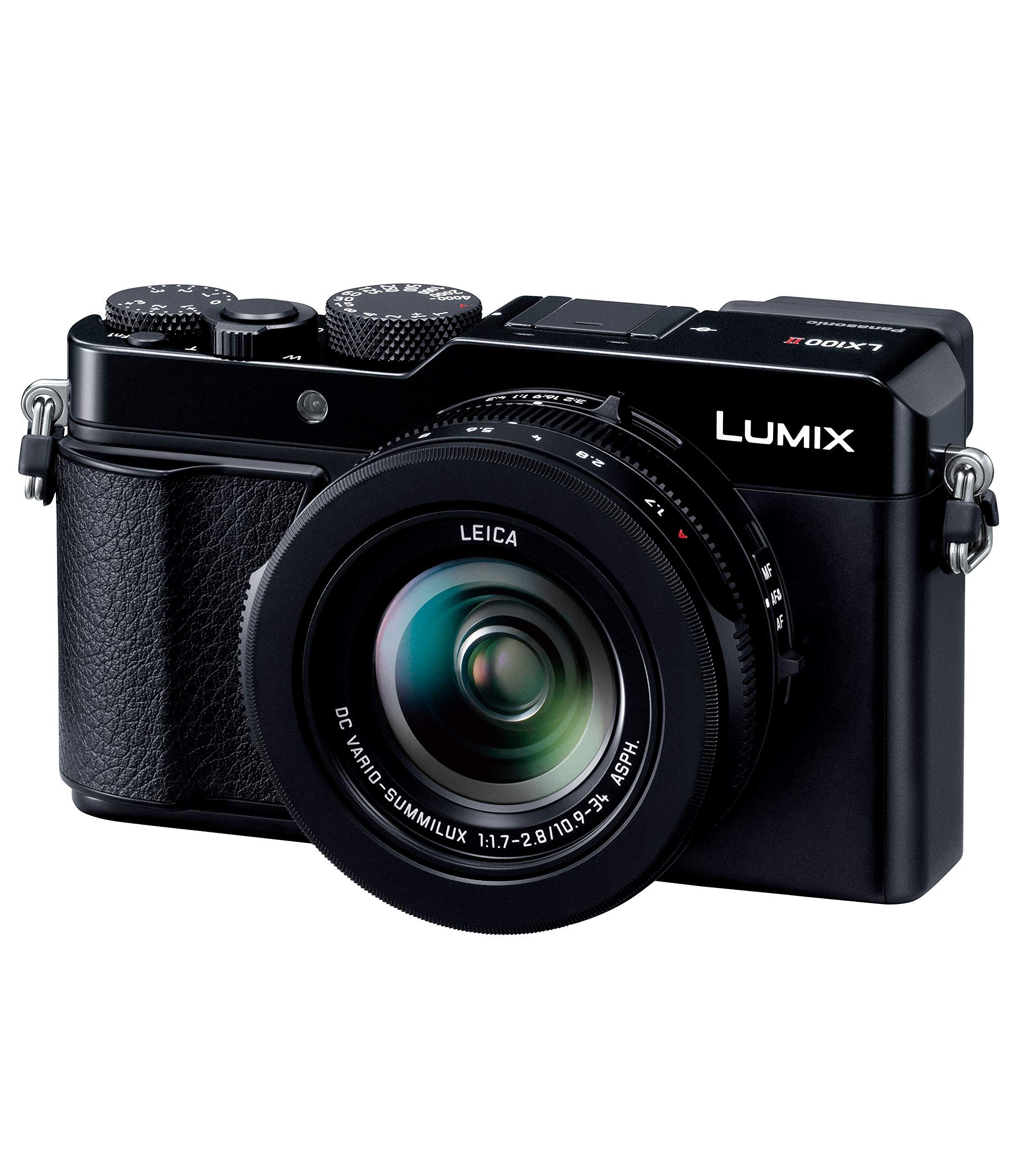 パナソニック デジタルカメラ LUMIX LX100 II ブラック DC-LX100M2 1台