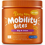 Zesty Paws Glucosamine Dogs - Hip & Joint Supplement Dog Arthritis Pain Relief - with Chondroitin & Msm - Advanced Daily Mobi