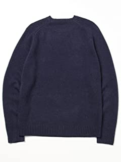5 Gauge Wool Crewneck Sweater 11-15-0683-103: Navy
