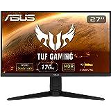 ASUS ゲーミングモニター TUF Gaming VG27AQL1A 27インチ/WQHD/IPS/170Hz/1ms/HDR/PS5/NVIDIA ULMB/DP,HDMIx2/3年保証