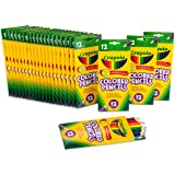 Crayola Bulk Colored Pencils, Pre-sharpened, Back to School Supplies, 12 Assorted Colors, Pack of 24