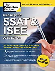 Cracking the SSAT and ISEE: 2020 Edition