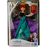 Disney Frozen 2 - Anna Musical Adventure Singing Doll - Sings Some Things Never Change - Collector Doll and Toys for Kids - G