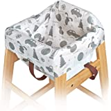 10 Single-Wrapped Durable impervious Restaurant highchair Baby Chair Covers Disposable or Reusable by Oopsababy
