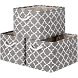 WISELIFE Storage Baskets [3-Pack] Large Collapsible Storage Bins Boxes Cubes for Clothes Toys Books, Perfect Storage Organize