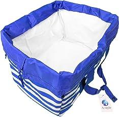 A-style エコバッグ レジかご 折りたたみタイプ 保冷はっ水素材使用 34L ビッグサイズ