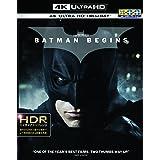 バットマン ビギンズ <4K ULTRA HD&ブルーレイセット>(3枚組) [Blu-ray]