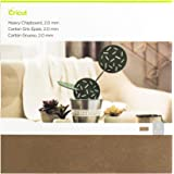 "Cricut 2004854 Heavy Chipboard, Brown,12""x12"""