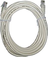 関西通信電線 LANコードコネクター付パッチコード UTP C5 5m アイボリー