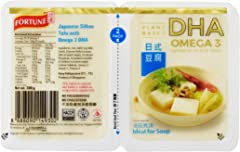 Fortune Japanese Silken Tofu With Omega 3 DHA (Packaging may vary) - Chilled