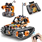 OASO Remote Control STEM Building Kit for Boys 8-12, 392 Pcs Science Learning Educational Building Blocks for Kids, 3 in 1 Tr