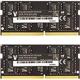v-color Hynix IC ノートPC用メモリ DDR4 2666MHz PC4-21300 64GB (32GB×2枚) SO-DIMM 2Gx8 1.2V CL19 iMac対応 無期限保証(永久保証)TN432G26D819K-VC