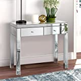 Artiss Hallway Console Table Mirrored Bedroom Dressing Table