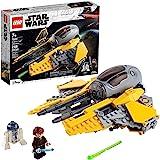 LEGO Star Wars Anakin's Jedi Interceptor 75281 Building Toy for Kids, Anakin Skywalker Set to Role-Play Star Wars: Revenge of