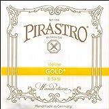 Pirastro Gold Label 4/4 Violin E String - Medium - Steel - Ball End