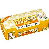 [Amazon限定ブランド]防臭ポリ袋(乳白半透明) おむつ用 90枚入 Lサイズ