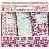 Heathcote & Ivory Ltd Vintage Fab & Flowers Hand Creams Set, 3 count