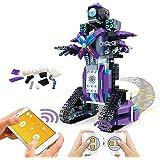 POKONBOY Building Blocks Robot Kits for Kids to Build, STEM Toys Engineering DIY Remote Control Robot Kits STEM Robotics Buil