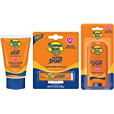 Banana Boat Ultra Sport TSA Approved, Reef Friendly Sunscreen Travel Pack with 2oz Lotion, 1.5oz Face Stick and 0.15oz Lip Ba