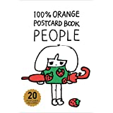 100%ORANGE POSTCARDBOOK PEOPLE