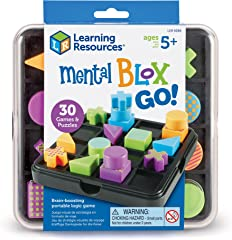 Learning Resources LER9286 Mental Blox Go! Game