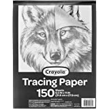 "Crayola Tracing Paper 8 1/2"" X 11"", Great for Light Up Tracing Pad, Gift, 150Count"