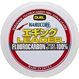 DUEL(デュエル) HARDCORE(ハードコア) フロロライン 1.5号/1.75号/2.0号/2.5号 HARDCORE エギング LEADER 30m ナチュラルクリアー