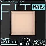 Maybelline Fit Me Matte & Poreless Pressed Powder - Buff Beige 130