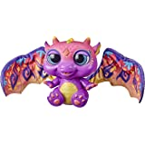 Furreal- Moodwings Baby Dragon- Interactive Plush Pet- 50+ Sounds and Reactions- Colour Changing- Interactive Kids Toys- Ages