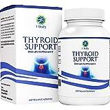 Thyroid Support Supplementwith Iodine- Metabolism, Energy & Focus Formula - Vegetarian& Non-GMO- Vitamin B12 Complex, Zin