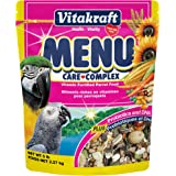 Vitakraft Menu Vitamin Fortified Parrot Food for Macaws, Amazons, and Large Pet Birds, 5 lb