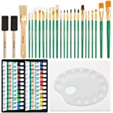 Oil Painting Deluxe Art Set - 24 Oil Paints - Paint Brushes Set - Painting Canvas - Paint Palette - Art Supplies for Teens Ad