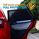 ATK Essential Products Car Window Shades for Baby -2019 Premium Version -Breathable Mesh -Protect Kids/Pets from Sun - Easy F