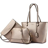カバン レディース ショルダーバッグ 通勤バッグ 3点セット レディース 鞄女性用 高級合皮 8色 通勤 ビジネス 入学…