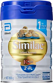 Abbott Similac 2'-FL Stage 1 Infant Milk Formula, 0-12 months, 850g