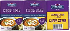 Emborg Cooking 3s Cream, 600ml - Chilled
