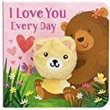 I Love You Every Day Children's Finger Puppet Board Book (Perfect Gifts for Little Valentines Ages 0-3)