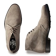 Chukka Boot (Edward) 830048: Alpaca Suede