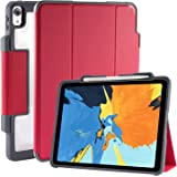 """STM Dux Plus, Ultra-Protective case for Apple 11"""" iPad Pro 2018 Gen with Pencil Storage - Red (stm-222-197JV-02)"""