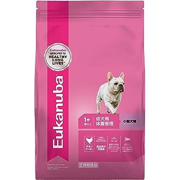 ユーカヌバ ドッグフード 体重管理 成犬用 1歳以上 小型犬用 チキン 2.7kg