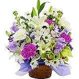 お供え お供えアレンジメント 花 供花 家族葬 お花 サンモクスイの手作り