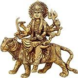 Maa Durga Statue Brass Religious Gifts Idol Hinduism Decor Durga Puja 8.5 Inch,2.8 Kg