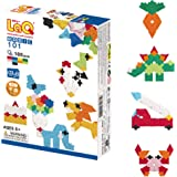 LaQ Basic 101 - 46 Models, 185 Pieces  Learning Construction Building Set   Made in Japan   Educational FIne Motor Skills Toy