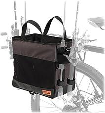 DOPPELGANGER(ドッペルギャンガー) ランガンサイクルサイドバッグ 【 自転車 x 釣り 】ロッドホルダー4箇所を備える タックルバッグ タックルボックス収納のためのスクエアボディ ショルダーベルト付属 DBP435-DP