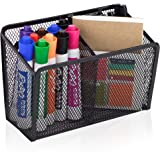 Workablez Magnetic Pencil Holder - 2 Generous Compartments Magnetic Storage Basket Organizer - Extra Strong Magnets - Perfect