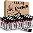 Energizer AAA Batteries, Triple A Battery Max Alkaline (48 Count) E92DP2-24