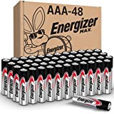 Energizer AAA Batteries, Triple A Battery Max Alkaline (48 Count) E92DP2-24